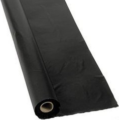 4 mil double black fire retardant plastic sheeting 10'x100'