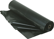 8 mil double black fire retardant plastic sheeting 5' x 500'