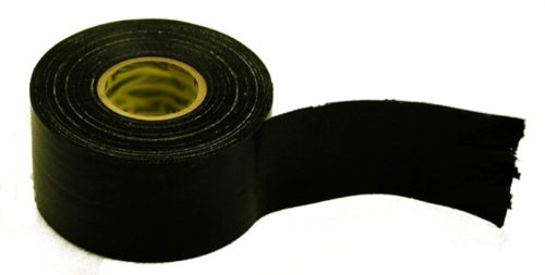 "Black Fire Retardant plastic sheetingTape 2"" x 100' roll"