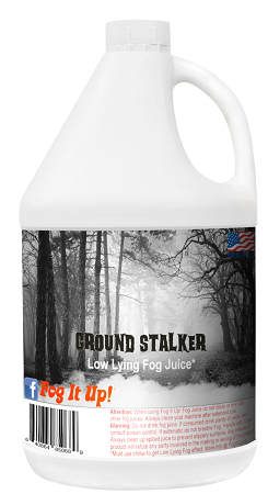 FogItUP.co - Ground Stalker Fog Low lying Fog Juice - 1 Gal