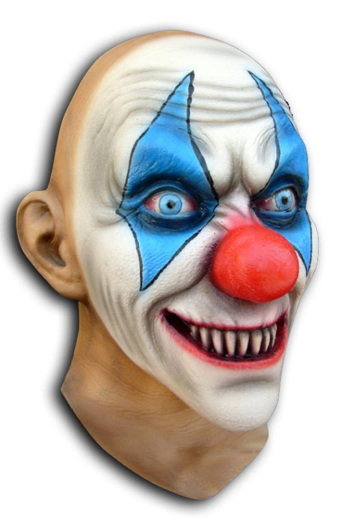 Pat Magee Clown Mask with Sweat Channel™ Air-Flo Technology