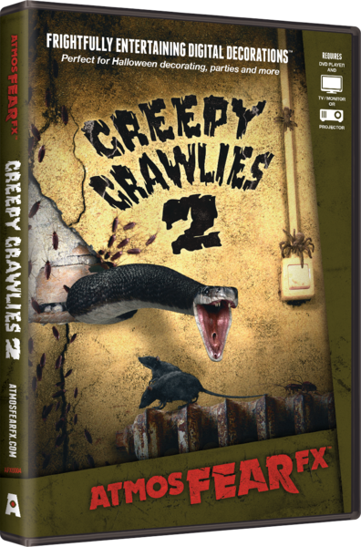 AtmosFEARfx - Creepy Crawlies 2 DVD