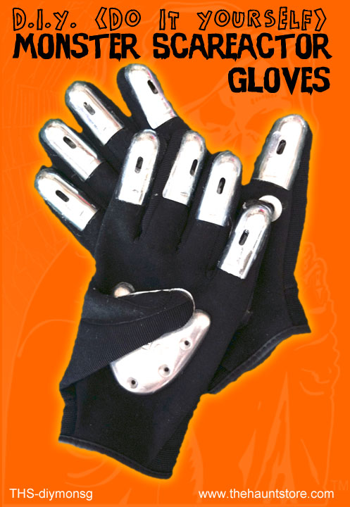 DIY Monster Scareactor Gloves Kit