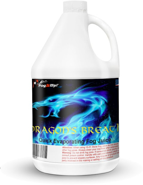 FogItUp.co - Dragon's Breath Quick Evaporating Fog Juice - 1 Gal
