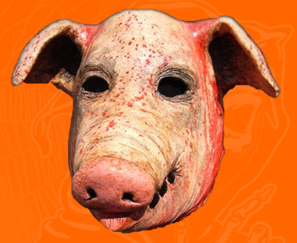 Pig Head Redux Large Mask