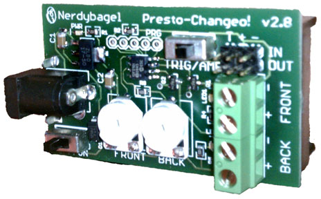 Nerdybagel Presto-Changeo LED Controller Board