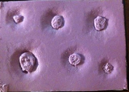 Silicone Appliance Small Mold #12 - Bullet Wounds